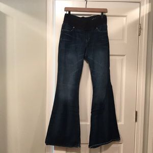 Gap maternity jeans - size 10R flare